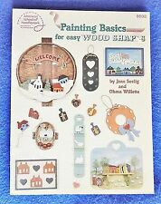 Painting Basics for Easy Wood Shapes American School of Needlework #8808 c1987