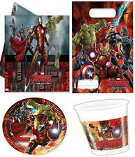 OFFICIAL The Avengers Age Of Ultron Super Hero Birthday Party Supplies Comics