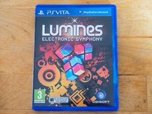 Lumines Electronic Symphony for Sony Playstation PS Vita