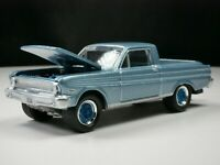 1965 Ford Ranchero  1/64 Scale Diecast Diorama Car Rare Toe Package Real Riders