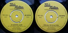 STEVIE WONDER MY CHERIE AMOUR (SUNG IN SPANISH) 1970 MEGARARE CHILEAN PRESS ONLY