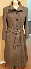 Beautiful and Classy Vintage Women's Coat, 100% Wool, Green & Makofsky - Quality