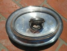 Serving Dish Oval Barbour Silver Co Bscep Ns Lid Removable Handle Silverplated