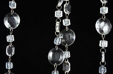 6' Acrylic Crystal Round Bead Wedding Strand Party Favor Decor