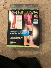BeACTIVE Brace Acupressure for Back Leg Hip Sciatica As Seen on TV Be Active NEW