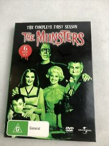 The Munsters Complete Season 1 (DVD, 6-Disc Set) **NEW** Rated G Region 4 Aus