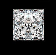 20ct Princess Synthetic by Crystal Carbon Labs Outshines diamonds & Moissanite