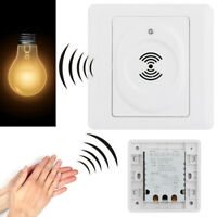 Voice Control Light Sensor Lamp Switch Sound Activated Delay Switches Wall Mount