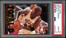 Michael Jordan 1995 Fleer Total D #3 PSA 10 Gem Mint