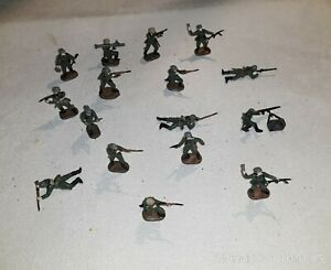 1/72 PAINTED SOLDIERS : WW2, GERMAN WEHRMACHT 1940 (16 figs)