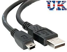 USB 2.0 Hi-Speed A to mini-B 5 pin Cable Power & Data Lead 3m