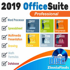 Office Home and Student 2019 Professional Open Office Suite for Windows on CD