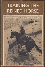 Training the Reined Horse by Peter Phinny (1977) HC/DJ 1ST~WESTERN RIDING~ILLUS.