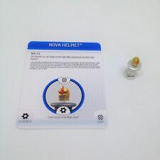 Heroclix Galactic Guardians set Nova Helmet #S101 LE Special Object w/card!