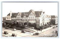 Postcard Eureka Inn, Eureka, CA 1937 RPPC H12