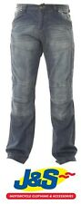 Red Route RED 009 Ride Out Denim Motorcycle Jeans Motorbike Blue All Lengths J&S