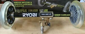 Ryobi Water Broom and Undercarriage Cleaner