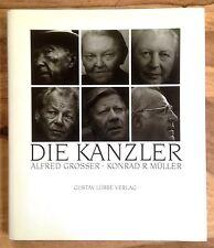 DIE KANZLER Alfred Grosser Konrad Müller Gustav Lübbe Verlag TOP