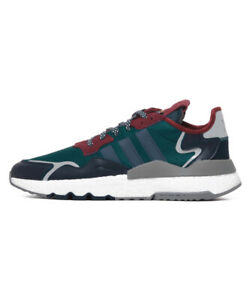 Adidas Nite Jogger Running Lifestyle Shoes Green EE5872 Size 9