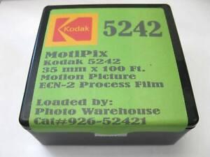 100' Roll MotiPix Kodak 5242 35mm Motion Picture ECN-2 Process Film SLOW Speed