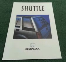1987 Model HONDA Civic SHUTTLE 2WD & RT 4WD - UK 16pg BROCHURE
