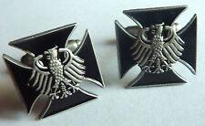 German Eagle Iron Cross WW2 Sniper CUFFLINK Cuff Links