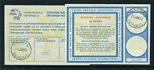 BAHAMAS 1973-76 REPLY PAID COUPONS IRCs 22c + 40c