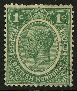British Honduras  1922-23   Scott # 92  USED