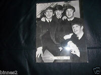 THE BEATLES ORIGINAL OFFICIAL 1963 BREL PROMOTIONAL PHOTOGRAPH CS234 BRILLIANT
