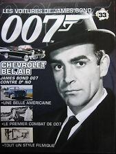 FASCICULE 33 JAMES BOND POSTER CHEVROLET BEL AIR   007 CONTRE DR NO