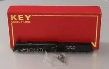 Key Imports N Brass Santa Fe 4-8-4 Steam Locomotive & Tender - painted/Box