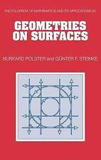 NEW Geometries on Surfaces (Encyclopedia of Mathematics and its Applications)