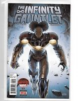 THE INFINTY GAUNTLET #5 RIRI IRON MAN SECRET WARS MARVEL NOW THANOS