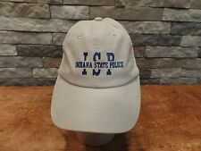 Indiana State Police Baseball Hat Cap ISP Port Authority Strapback Nice