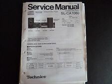 Original Service Manual  Technics Compact Disc Player SL-CA1060