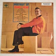 """Jimmy Dean - PORTRAIT OF JIMMY DEAN 12"""" Vinyl LP 1962 CBSAustralia"""