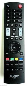 NEW 100% Genuine Sharp LC26LE430E TV Remote Control UK STOCK