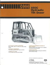Equipment Brochure - Case - 850C - Hydraulic Tilt Dozer - c1981 (E4129)