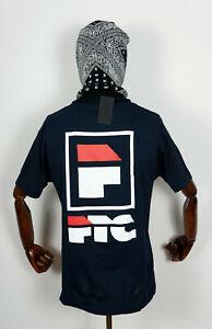 FTC Skateshop t-shirt Tee Chemise Ila navy En M San