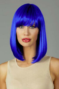 """Incognito Wig, Style: Star, Color: Electric Blue, Length: 14"""""""