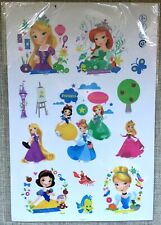 princess snow White the little mermaid  wall sticker decal children/kids bedroom