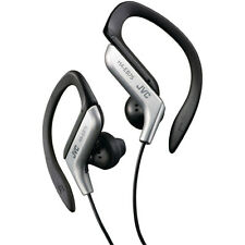 JVC HAEB75S Sports Ear Clip Earphones with Adjustable Clip - Silver