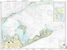 NOAA Chart Block Island Sound and Gardiners Bay; Montauk Harbor 27th Ed. 13209