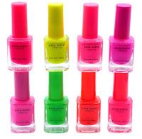 ♥ NEON Lack E.Paris Nagellack Longlasting bunt leuchtende Farben Nail Maniküre ♥