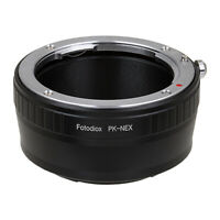 Fotodiox Lens Adapter Pentax K Lenses to Sony E-Mount