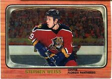 2002-03 Topps Heritage Chrome Stephen Weiss Card 545/667 Florida Panthers