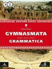 Gymnasmata ed.Rossa, Grammatica, LeMonnier scuola, cod:9788800347013
