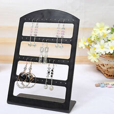 Plastic Stud Stand Storage Holder Earring Display Rack Jewelry Organizer
