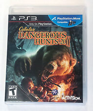 Cabela's Dangerous Hunts 2011 PS3 Playstation 3 Game ONLY (Gun NOT Included) -B-