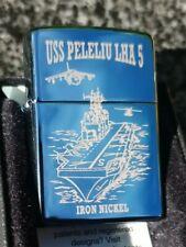 ZIPPO, USS PELELIU LHA 5, ASSULT SHIP, LIGHTER ((VERY RARE))